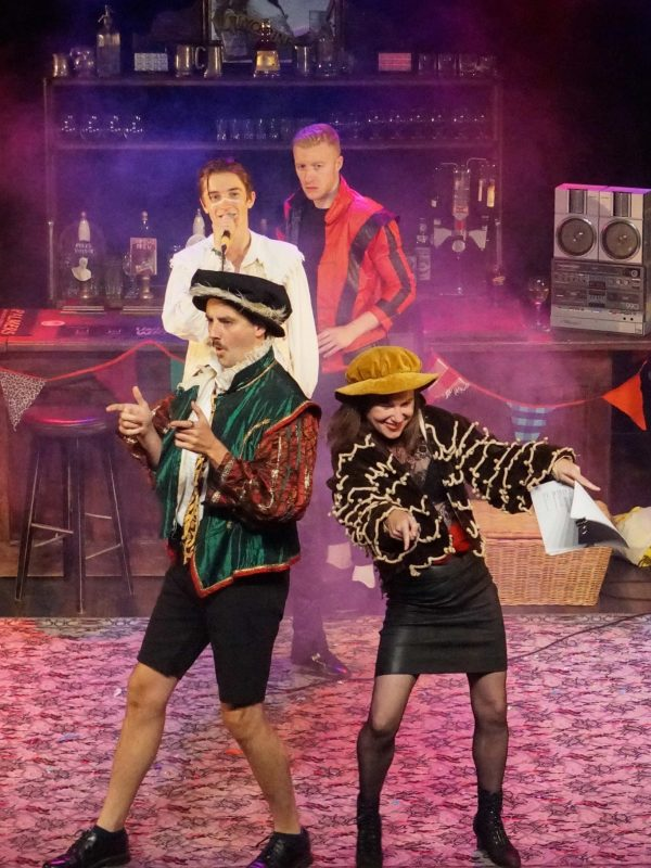 The Taming of the Shrew at the Theatre Royal Winchester, 2018